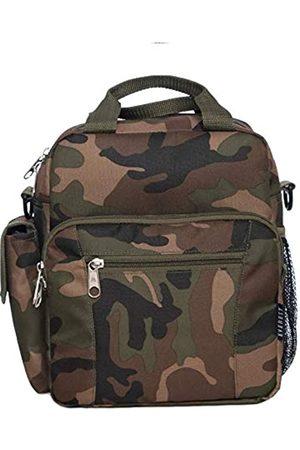 Everest Umhängetaschen - Unisex-Erwachsene Woodland Camo Deluxe Utility Bag Umhängetasche, Woodlang/Camouflage