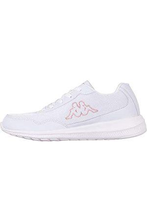 Kappa FOLLOW NC | Freizeit-Sneakers für Frauen und Männer | super-leicht, modisch und zeitlos | angenehmes Tragegefühl | atmungsaktiv, Farbe 1071 white/darkrosé