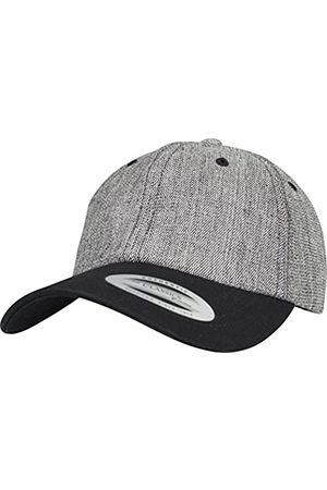 Flexfit Low Profile Denim Cap, Melange/Black