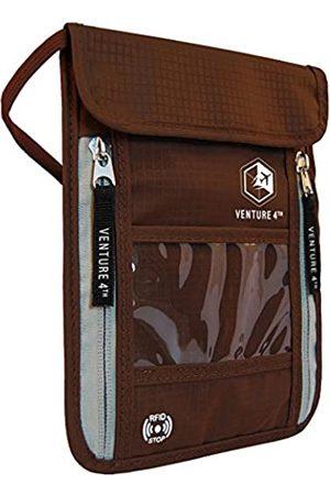 VENTURE 4TH Damen Reisetaschen - Reise Brustbeutel Brusttasche Reisegeldbeutel mit RFID-Blockierung - Ideal zum Verstauen von Reisepass und Wertsachen