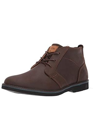 Nunn Bush Herren Barklay Plain Toe Boot Suede Leather with Memory Foam and Comfort Gel Chukka, Stiefel