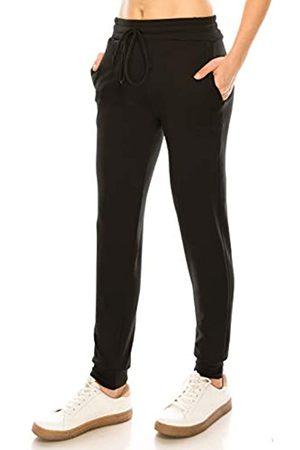 Always Damen Jogginghosen - Damen Fleece Jogger Sweatpants - Premium Soft Stretch Warm Fleece Hose mit Taschen - - Groß