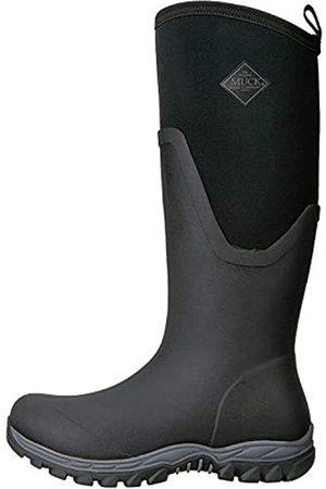 Muck Damen Gummistiefel - Damen Arctic Sport Ii Tall Gummistiefel, (Black/Black)