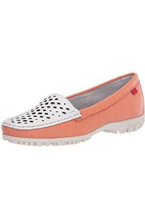 Marc Joseph New York Damen Golf-Schuh, Leder Made in Brazil Luxus mit verporiertem Vamp, Pink (Lachs/ getrocknet)
