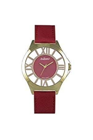 Arabians Damen Uhren - DamenAnalogQuarzUhrmitLederArmbandDPA2206R