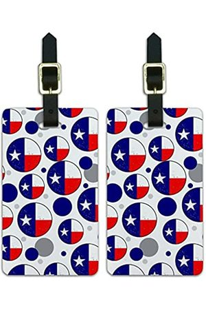 Graphics and More Graphics & More Texas Secede-Distressed State Flag - Luggage.Tags.08184