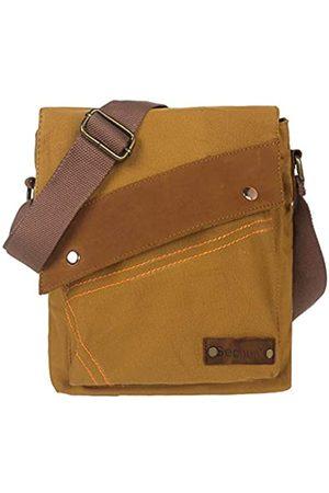 Zuzin Herren Umhängetaschen - Messenger Bag für Damen und Herren Retro Canvas Schultertasche Satchel Klassische Crossbody Taschen
