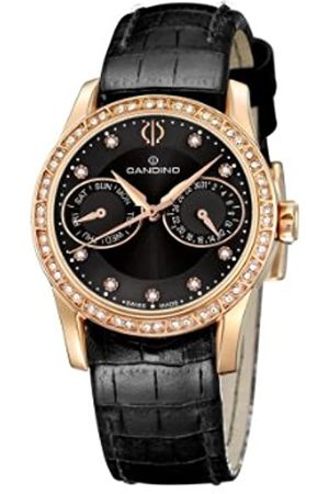 Candino Damen-Armbanduhr Analog Quarz Leder C4448/3