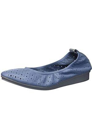 Aerosoles Damen Wooster Ballerinas, Blau (Mittelblaues Leder)