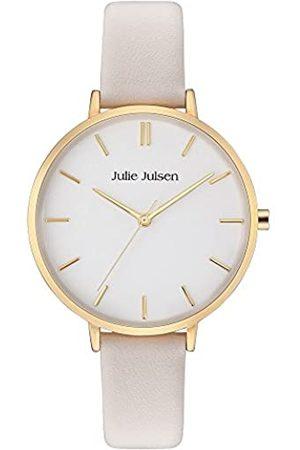 JULIE JULSEN Damen Uhren - JulieJulsenDamenAnalogQuarzUhrmitLederArmbandJJW10YGL-3