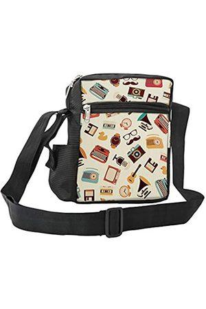 LIMIT Fashion Store Vintage Props Designer Crossbody Messenger Sling Bag Reise Büro Business einseitig Schultertasche für Männer Frauen (25 x 18 x 7
