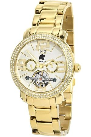 Carucci Damen Uhren - Damenarmbanduhr Automatik CA7103ST-GD