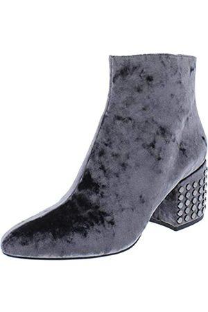 Kendall And Kylie Damen Pumps - Kendall + Kylie Frauen Blythe2 Pumps Rund Fashion Stiefel Grau Groesse 8.5 US /39.5 EU