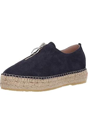 Andre Assous Damen Sneakers - Olivia Damen Plattform, (Navy)