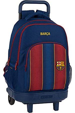 Safta Schulrucksack mit Trolley und gepolstertem Rücken von FC Barcelona, 20/21