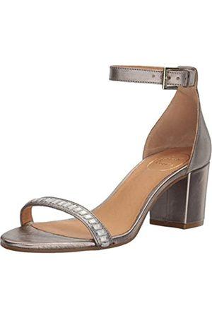 Jack Rogers Women's Lillian Dress Sandal, Pewter/Silver