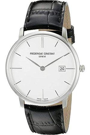 Frederique Constant Unisex Analog Quartz Uhr mit Leder Armband FC-220S5S6
