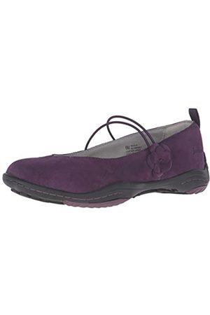 Jambu Women's Mason Mary Jane Flat, Purple