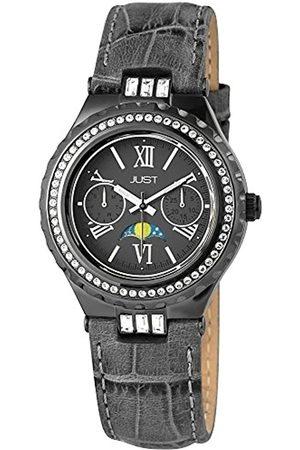 Just Watches Damen-Armbanduhr Analog Quarz Leder 48-S9254-GR
