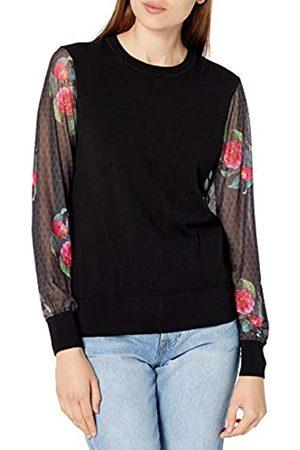 Desigual Womens JERS_Oshawa Pullover Sweater, Black
