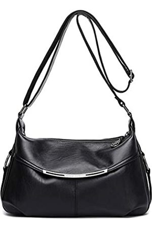 Hiigoo Reisetasche Messenger Bag Casual Totes Mode Schultertaschen PU Leder Handtaschen