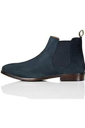 FIND Marin Chelsea Boots, (Navy (Suede)