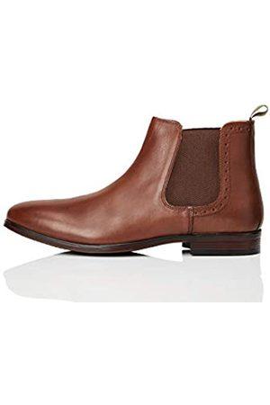 FIND Marin Chelsea Boots, Braun (Chestnut)
