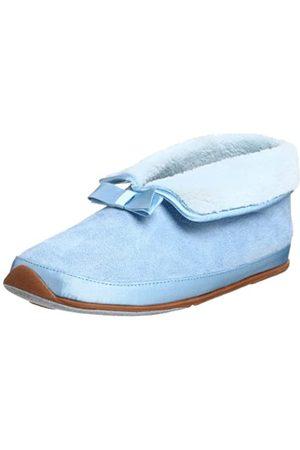 Deer Stags Damen Oasis Slipper, Blau (hellblau)