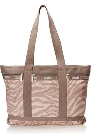 LeSportsac Klassische mittelgroße Reisetasche, (Zebra Tan)