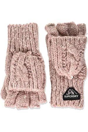 Superdry Damen Gracie Cable Glove Winter-Handschuhe