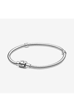PANDORA Schlangen-Gliederarmband mit Zylinder-Verschluss