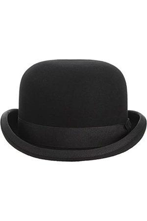 GEMVIE Er Derby-Hut, 100 % Wolle, Theaterqualität, Bowler-Hut für Männer und Frauen