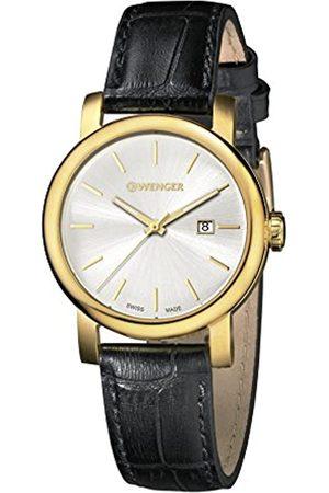 Wenger Damen Analog Quarz Uhr mit Leder Armband 01.1021.119