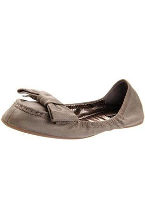 ZIGIny Damen Jackie Slip-On Loafer, (graues Leder)