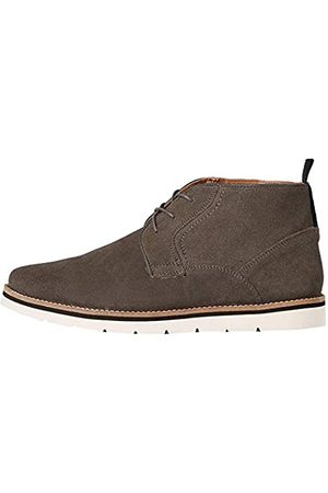 FIND Mellor Chukka Boots, Charcoal)