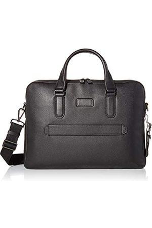 Tumi Harrison Barnes Aktentasche aus Leder mit Reißverschluss oben - 14 Zoll Computertasche für Damen und Herren