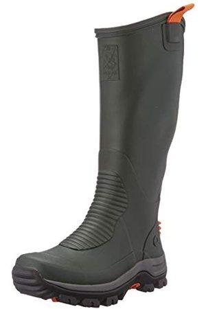 Viking Unisex-Erwachsene Elk Hunter Light Rain Boot, Green/Black