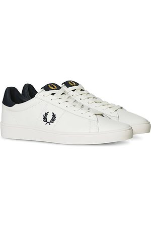 Fred Perry Spencer Leather Sneakers Porcelain/Navy