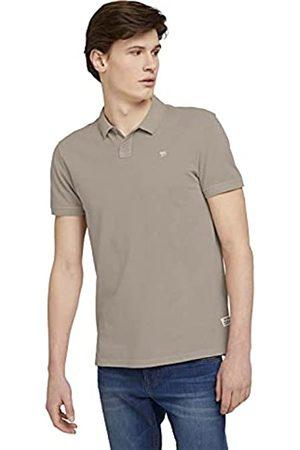 TOM TAILOR Herren 1025574 Washed Poloshirt, 20058-Sand