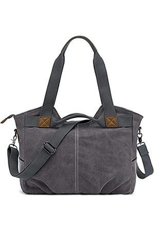 YKB Damen Vintage Hobo Bag Canvas Schultertasche Mehrzweck Leichte tägliche Geldbörse Große Tote Handtasche für Schule/Arbeit/Reisen