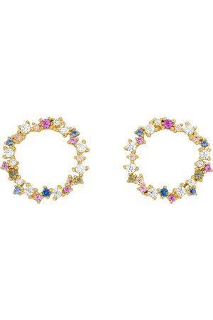 LEAF Ohrringe Earrrings Candy Sterlingsilver gold