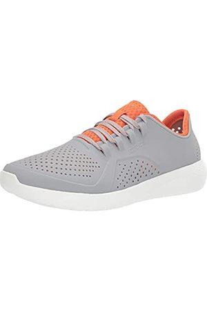 Crocs Herren LiteRide Pacer Sneakers Sneaker, Hellgrau/