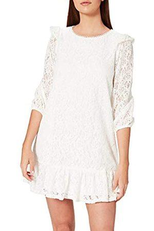 Springfield Damen Vestido Lace Volantes Kleid