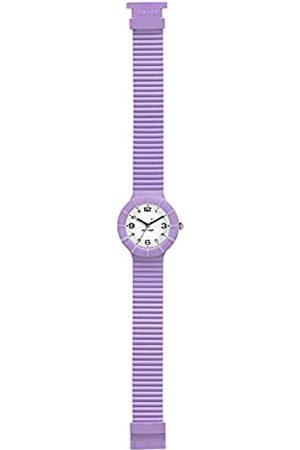 Hip Armbanduhr Frau Numbers Collection quadrante Weiss e uhrarmband in silikon lile