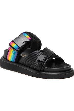 Kurt Geiger Orson Cross Sandal 8285100609 Black