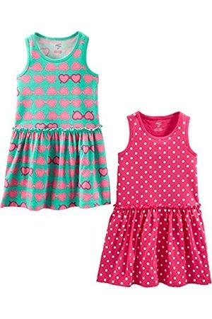 Simple Joys by Carter's Mädchen 2-Pack Short-Sleeve and Sleeveless Dress Sets, 2er-Pack