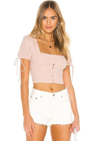 superdown Rosa Button Up Top in . Size XS, S.