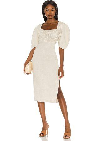 Song of Style Monet Midi Dress in . Size XXS, XS, S.
