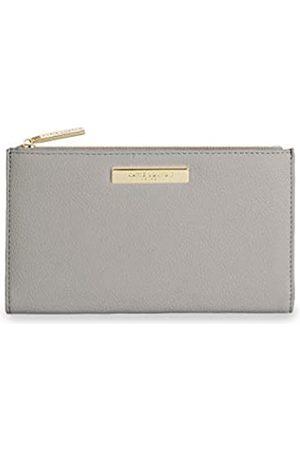 Katie Loxton Alise Damen Geldbörse aus veganem Leder mit Reißverschluss - Grau