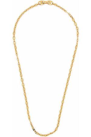 TOM WOOD Halsketten - Vergoldete Kaffeebohnenkette